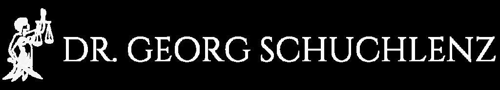 Dr. Georg Schuchlenz Logo weiss